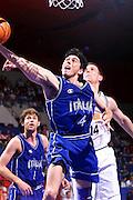 Francia 26/06/1999<br /> Campionati Europei di Basket Francia 1999<br /> Italia-Germania<br /> Davide Bonora