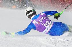 ZERAK Miselof Slovenia falls during 1st Run of Men's Slalom - Pokal Vitranc 2012 of FIS Alpine Ski World Cup 2011/2012, on March 11, 2012 in Vitranc, Kranjska Gora, Slovenia.  (Photo By Vid Ponikvar / Sportida.com)