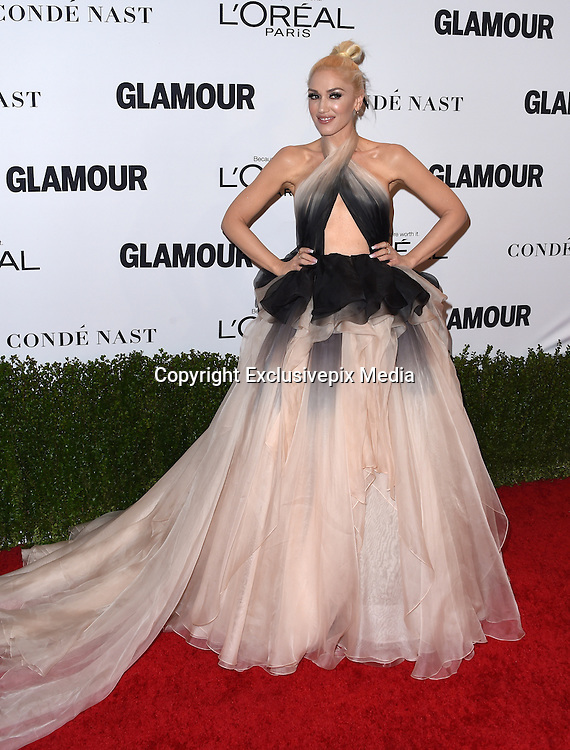 Gwen Stefani@ the 2016 Glamour Women of the Year awards held @ the NeueHouse.<br /> ©Exclusivepix Media