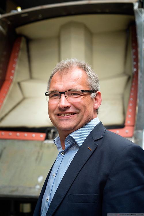 Staden, Belgium, 7 jun 2017, Director Lieven Nueville  of Mol Cy industrial vehicel manufacturing