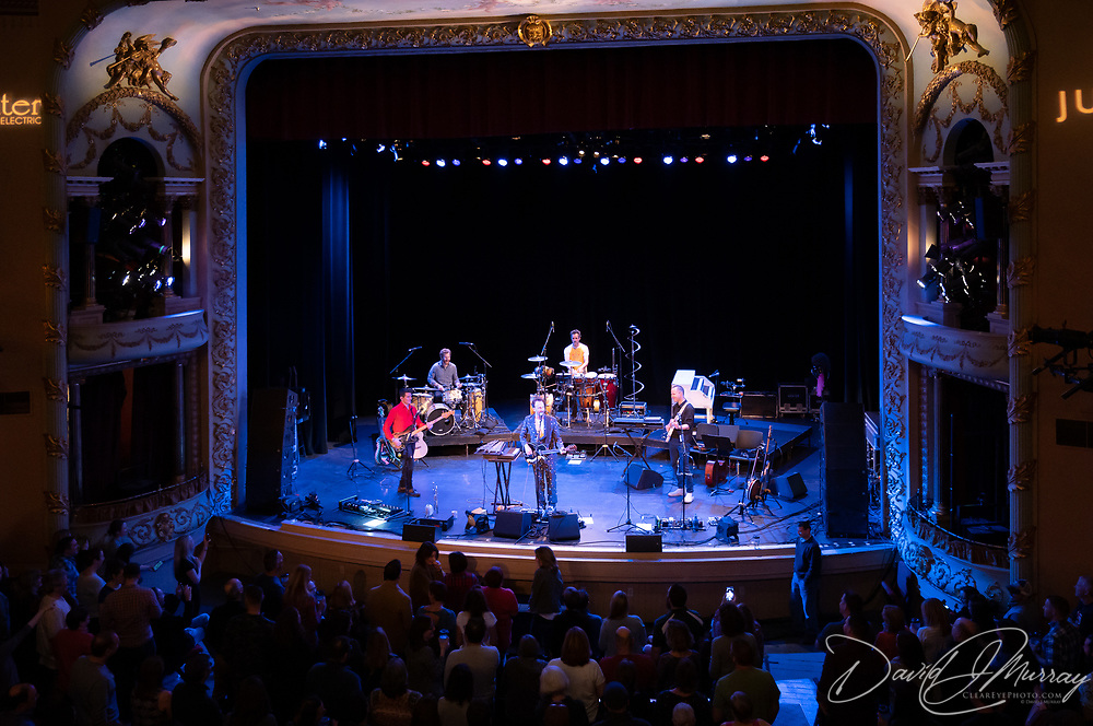 Guster performs at The Music Hall in Portsmouth, NH