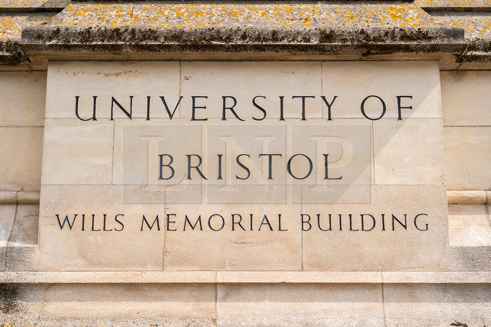 © Licensed to London News Pictures; 12/06/2020; Bristol, UK. Views of the University of Bristol's Wills Memorial Building. The University of Bristol is considering changing the names of some of its buildings including the Wills tower in response to the Black Lives Matters campaign and concern over links to slavery. In an email to students yesterday, the Vice-Chancellor and Pro Vice-Chancellor said the University is determined to become an anti-racist organisation, and that the University recognises how money from the transatlantic slave trade indirectly benefitted the University through philanthropic donations including from the Wills family who made money from the tobacco industry which had links to slavery. The University will review the names of buildings such as the Wills Memorial Building, Wills Hall for student accommodation and the Colston Street student accommodation. It also promises to review the University's logo, which carries links to the slave trade. At a Black Lives Matter protest the previous Sunday the statue of slave trader and philanthropist Edward Colston which has stood in Bristol city centre for over 100 years was pulled down with ropes and thrown in Bristol Docks by protesters during the BLM rally and march through the city centre in memory of George Floyd, a black man who was killed on May 25, 2020 in Minneapolis in the US by a white police officer kneeling on his neck for nearly 9 minutes. The killing of George Floyd has seen widespread protests in the US, the UK and other countries. Photo credit: Simon Chapman/LNP.