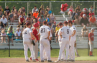 Laconia Baseball versus Fall Mountain first round tournament Division III NHIAA varsity baseball.  Karen Bobotas/for the Laconia Daily Sun