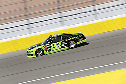 March 2, 2018 - Las Vegas, Nevada, United States of America - March 02, 2018 - Las Vegas, Nevada, USA: Ryan Blaney (22) takes to the track to practice for the Boyd Gaming 300 at Las Vegas Motor Speedway in Las Vegas, Nevada. (Credit Image: © Justin R. Noe Asp Inc/ASP via ZUMA Wire)