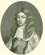 James, Duke of Monmouth (1649-1685) illegitimate son of Charles II and Lucy Walter.  On his father's death he claimed the throne.  After the failure of the Monmouth Rebellion he was executed on Tower Hill, London.