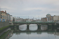 Gratten Bridge over the River liffey, Dublin, Ireland