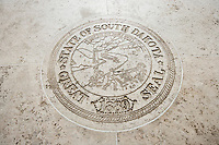 Seal of South Dakota in Fort Bonifacio; Manila; Philippines