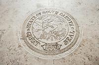 Seal of South Dakota in Fort Bonifacio; Manila; Philippines