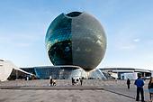 Nur Alem Kazakhstan Pavilion-Adrian Smith + Gordon Gill Architecture