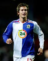 Photo: Paul Greenwood/Sportsbeat Images.<br /> Blackburn Rovers v Arsenal. Carling Cup, Quarter Final. 18/12/2007.<br /> Blackburn Rover's Morten Gamst Pedersen
