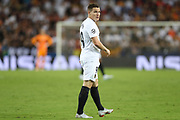 Kevin Gameiro of Valencia CF during the UEFA Champions League, Group H football match between Valencia CF and Juventus FC on September 19, 2018 at Mestalla stadium in Valencia, Spain - Photo Manuel Blondeau / AOP Press / ProSportsImages / DPPI