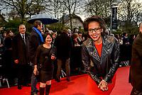 Ouverture du 10e festival du film policier a Beaune<br /> Audrey Pulvar