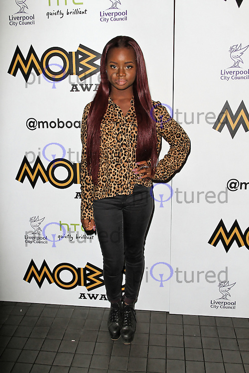 LONDON - SEPTEMBER 17: A * M * E attended the Nominations Launch of the MOBO Awards at Floridita London, UK. September 17, 2012. (Photo by Richard Goldschmidt)