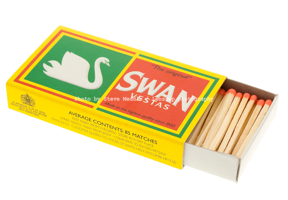 Box of Swan Vesta Matches