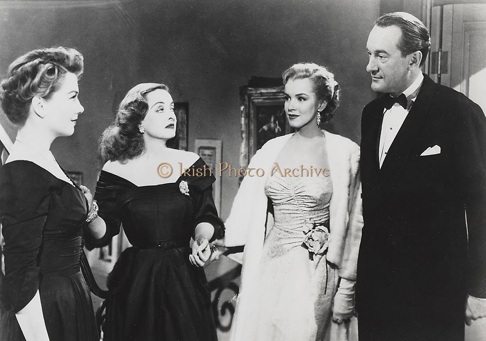 ALL ABOUT EVE, Fox, 1950. Producer: Darryl F. Zanuck. Director: Joseph L. Mankiewicz. Starring Bette Davis
