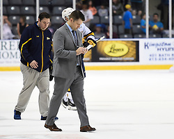 Chris Hartsburg of the Erie Otters. Photo by Aaron Bell/OHL Images