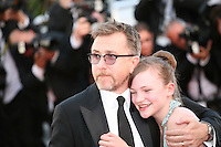Actor Tim Roth at the gala screening of the film Moonrise Kingdom at the 65th Cannes Film Festival. Wednesday 16th May 2012, the red carpet at Palais Des Festivals in Cannes, France.