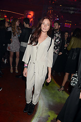 CLARA PAGET at Club DNKY in celebration of #DKNYARTWORKS held at The Firestation, Lambeth High Street, London SE1 on 12th June 2013.