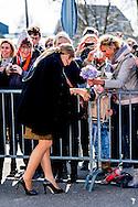 7-3-2017 - Queen Maxima brings Tuesday March 7 a working visit to Koppert Cress in Westland. Koppert Cress is the winner of the King William I Plaque for Sustainable Entrepreneurship 2016. The award recognizes sustainable innovations of small and large organizations. Queen Maxima is honorary president of the Koning Willem I Foundation. COPYRIGHT ROBIN UTRECHT<br /> <br /> 7-3-2017 - Koningin Maxima brengt dinsdagmiddag 7 maart een werkbezoek aan Koppert Cress in Westland. Koppert Cress is winnaar van de Koning Willem I Plaquette voor Duurzaam Ondernemerschap 2016. Deze prijs beloont duurzame innovaties van kleine of grote organisaties. Koningin Maxima is erevoorzitter van de Koning Willem I Stichting. COPYRIGHT ROBIN UTRECHT