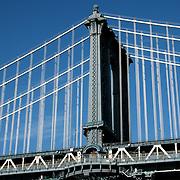 Manhattan Bridge, horizontal detail