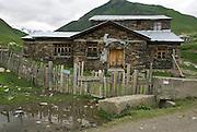 Georgia, Svaneti Region, Ushguli village