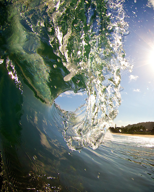 wave photography taken in Hawaii.