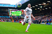 Leeds United midfielder Jack Harrison (22) in action during the EFL Sky Bet Championship match between Leeds United and Bristol City at Elland Road, Leeds, England on 15 February 2020.