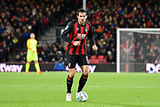 Charlie Daniels (11) of AFC Bournemouth during the EFL Cup 4th round match between Bournemouth and Norwich City at the Vitality Stadium, Bournemouth, England on 30 October 2018.