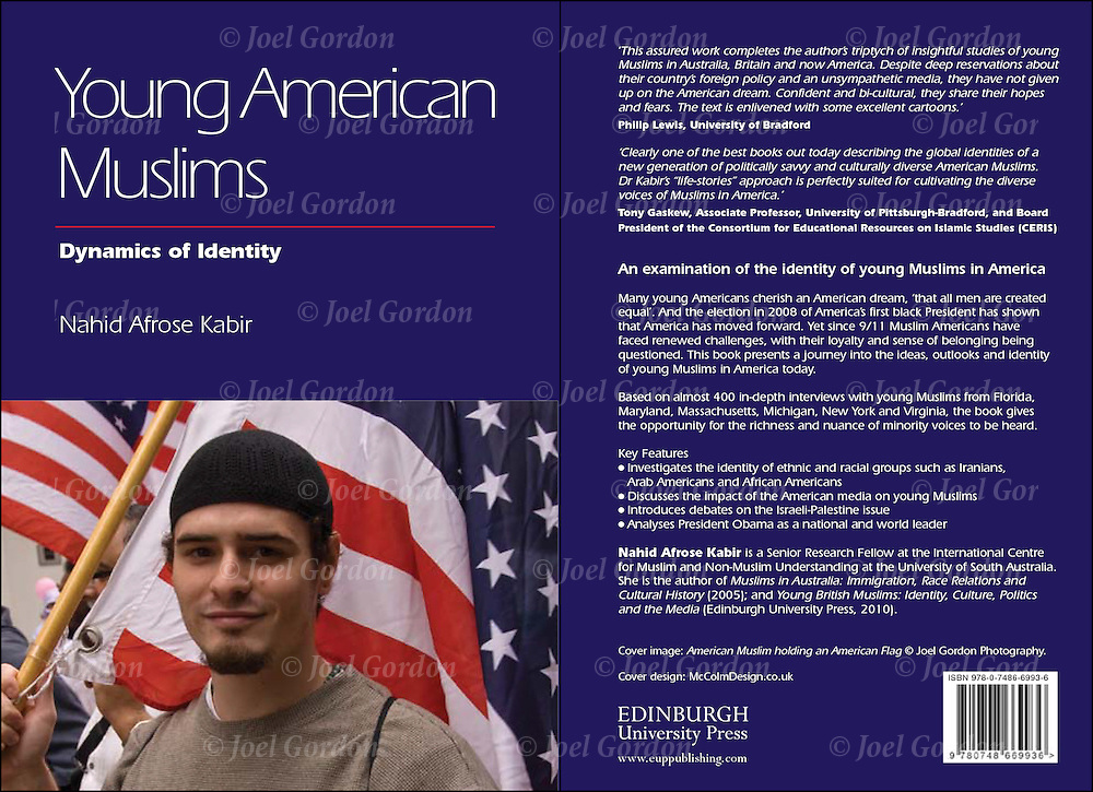Front and back cover of Young American Muslims by Nahid Kabir published by Edinburgh University Press.