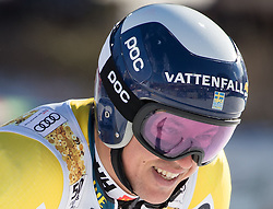 18.12.2016, Grand Risa, La Villa, ITA, FIS Ski Weltcup, Alta Badia, Riesenslalom, Herren, 2. Lauf, im Bild Andre Myhrer (SWE) // Andre Myhrer of Sweden reacts after his 2nd run of men's Giant Slalom of FIS ski alpine world cup at the Grand Risa race Course in La Villa, Italy on 2016/12/18. EXPA Pictures © 2016, PhotoCredit: EXPA/ Johann Groder