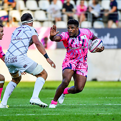 Jonathan Danty of Paris during Top 14 match between Stade Francais and Union Bordeaux Begles on September 1, 2018 in Paris, France. (Photo by Aude Alcover/Icon Sport)