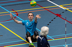 20-04-2019 NED: Dirk Kuyt Foundation Cup, Veenendaal<br /> National Cup sitting volleyball in Veenendaal / Volley Tilburg