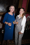 HARRIET ARNFIELD, SARAH CROWDEN, Literary Review  40th anniversary party and Bad Sex Awards,  In & Out Club, 4 St James's Square. London. 2 December 2019