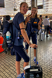 17-10-2018 JPN: World Championship Volleyball Women day 18, Yokohama<br /> Travel day from Nagoya to Yokohama for the semi finals / Team Italy Elena Pietrini #14 of Italy