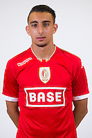 Standard's Achraf Achaoui pictured during the 2015-2016 season photo shoot of Belgian first league soccer team Standard de Liege, Monday 13 July 2015 in Liege.