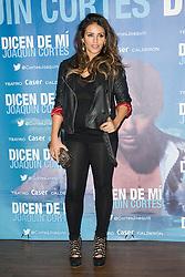 Monica Cruz, several months pregnant, attends the premiere 'Dicen de Mi', the flamenco show by Joaquin Cortes, December 23/12/ 2012 . in MADRID.  Oscar Gonzalez / i-Images.
