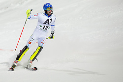 27.01.2015, Planai, Schladming, AUT, FIS Skiweltcup Alpin, Schladming, 2. Lauf, im Bild Markus Larsson (SWE) // Markus Larsson (SWE) during the second run of the men's slalom of Schladming FIS Ski Alpine World Cup at the Planai Course in Schladming, Austria on 2015/01/27, EXPA Pictures © 2015, PhotoCredit: EXPA/ Erwin Scheriau