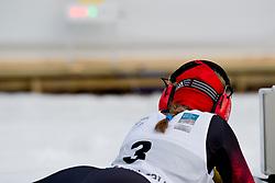 HOSCH Vivian Guide: SCHILLINGER F, GER, Short Distance Biathlon, 2015 IPC Nordic and Biathlon World Cup Finals, Surnadal, Norway