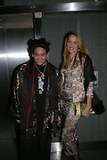 Prince Azim of Brunei and Jerry Hall.  Andy & Patti Wong's Chinese New Year party to celebrate the year of the Rooster held at the Great Eastern Hotel, Liverpool Street, London.29th January 2005. The theme was a night of hedonism in 1920's Shanghai. . ONE TIME USE ONLY - DO NOT ARCHIVE  © Copyright Photograph by Dafydd Jones 66 Stockwell Park Rd. London SW9 0DA Tel 020 7733 0108 www.dafjones.com