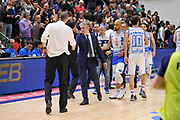 DESCRIZIONE : Sassari LegaBasket Serie A 2015-2016 Dinamo Banco di Sardegna Sassari - Giorgio Tesi Group Pistoia<br /> GIOCATORE : Vincenzo Esposito Marco Calvani<br /> CATEGORIA : Fair Play Postgame Ritratto<br /> EVENTO : LegaBasket Serie A 2015-2016<br /> GARA : Dinamo Banco di Sardegna Sassari - Giorgio Tesi Group Pistoia<br /> DATA : 27/12/2015<br /> SPORT : Pallacanestro<br /> AUTORE : Agenzia Ciamillo-Castoria/C.Atzori