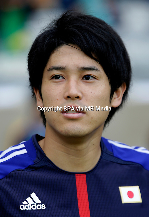 Fifa Brazil 2013 Confederation Cup / Group A Match / <br /> Japan vs Mexico 1-2  ( Mineirao Stadium - Belo Horizonte , Brazil )<br /> Atsuto UCHIDA of Japan , during the match between Japan and  Mexico