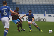 Robert Hunt Oldham Defender during the EFL Sky Bet League 1 match between Oldham Athletic and Scunthorpe United at Boundary Park, Oldham, England on 28 October 2017. Photo by George Franks.
