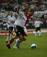 Photo: Steve Bond.<br />Derby County v Nottingham Forest. Pre Season Friendly. 31/07/2007.  Derby Skipper Matt Oakley