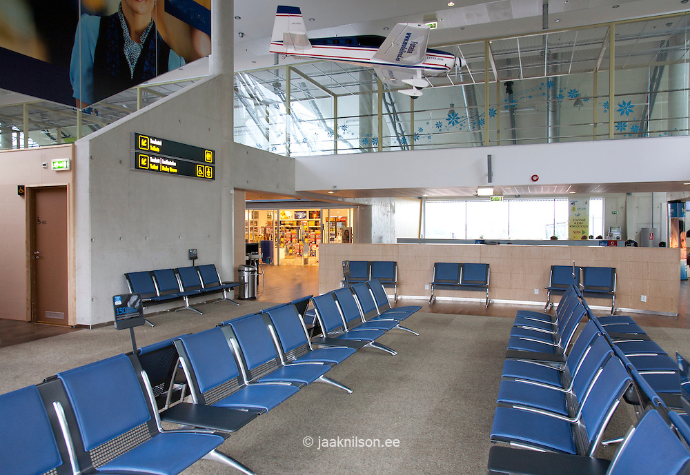 waiting area at airport gate