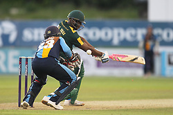 AD Russell of Notts Outlaws in action - Mandatory by-line: Jack Phillips/JMP - 24/06/2016 - CRICKET - The 3aaa County Ground - Derby, United Kingdom - Derbyshire Falcons v Notts Outlaws - Natwest T20 Blast