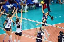 18-06-2016 ITA: World Grand Prix Italie - Nederland, Bari<br /> Nederland wint opnieuw van Italie, het ging moeizaam maar de 3-1 winst was genoeg / Antonella Del Core #15 of Italie<br /> <br /> <br /> ***NETHERLANDS ONLY***