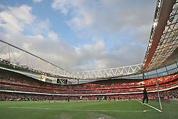 London, England - Sunday, January 21, 2007: Arsenal's Emirates Stadium against Manchester United during the Premier League match at the Emirates Stadium. (Pic by Chris Ratcliffe/Propaganda)