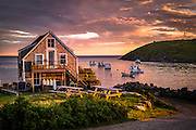 One of the most relaxing and interesting places in Maine, Monhegan Island. This was our third time visiting the island, but our first overnight. Being around for golden hour sure did help with photography. We caught this beautiful sunset during our stay.