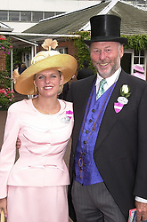 MR CHRIS WRIGHT owner of QPR FC and MISS JANICE<br />  STINNES, at Royal Ascot on 20th June 2000.OFN83<br /> © Desmond O'Neill Features:- 020 8971 9600<br />    10 Victoria Mews, London.  SW18 3PY <br /> www.donfeatures.com   photos@donfeatures.com<br /> MINIMUM REPRODUCTION FEE AS AGREED.<br /> PHOTOGRAPH BY DOMINIC O'NEILL