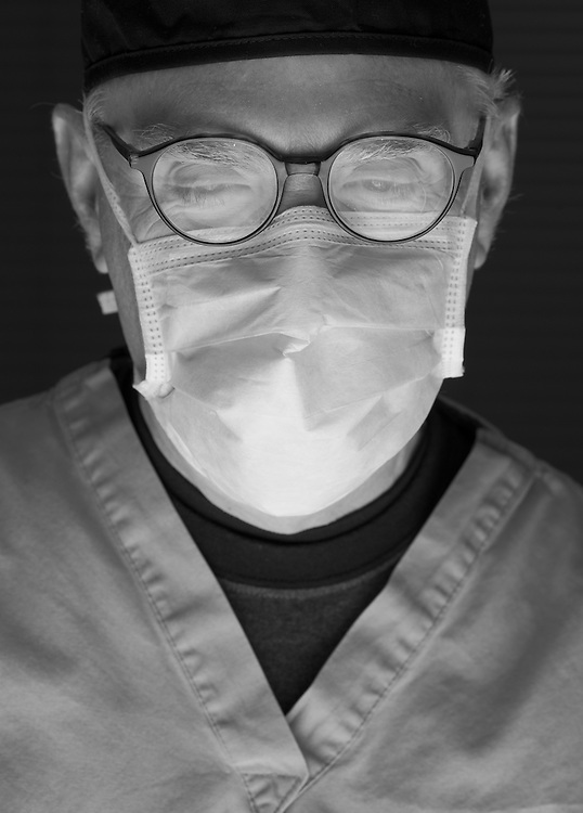 Doctor with medical mask